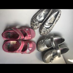 Toddler girl shoes bundle 10